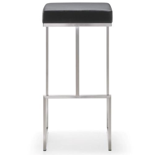 Tov Furniture - Ferra Black Steel Barstool (Set of 2)