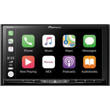 "7"" Flagship Double-DIN In-Dash Wireless DVD Receiver with Motorized Display, Wireless Apple CarPlay , Android Auto Wireless, Bluetooth®, HD Radio & SiriusXM® Ready"