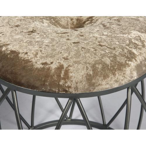 Sorrento Stool Set, Cream Ac351-rd-crm-2pcset