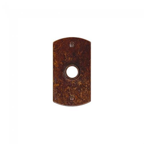 Rocky Mountain Hardware - Curved Escutcheon - E504 Silicon Bronze Brushed