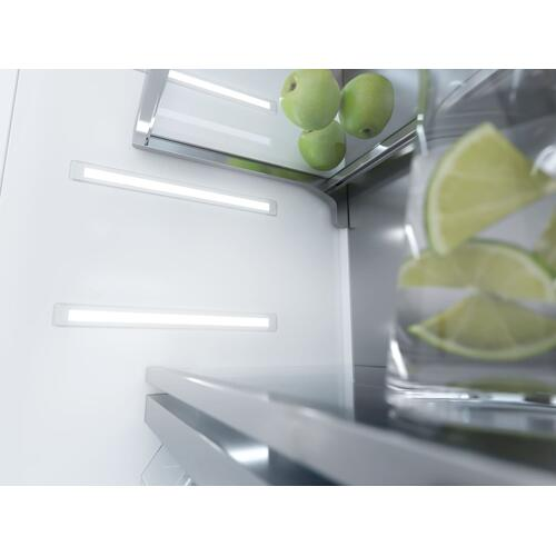 KF 2911 Vi - MasterCool™ fridge-freezer with high-quality features and maximum storage space for exacting demands.
