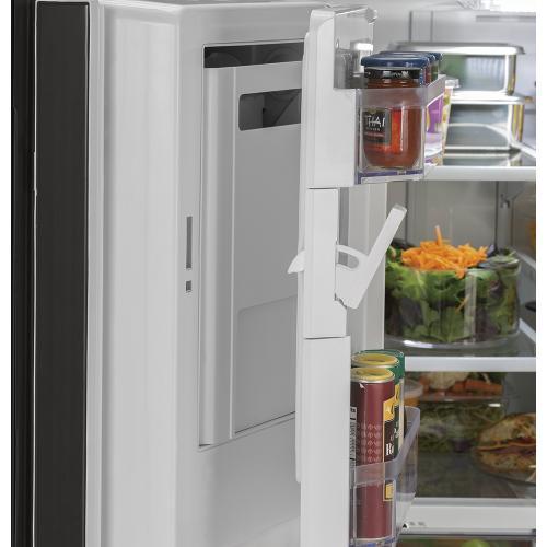 GE Appliances Canada - GE 25.5 Cu.Ft, French Door Refrigerator Slate- GFE26JMMES