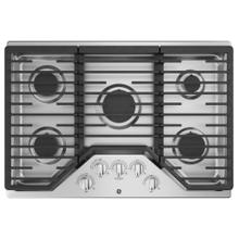 "GE 30"" Built-In Gas Cooktop 5 Burner Stainless Steel / New - Open Box / Excellent Condition / Linthicum, Md. / ID:400082 CNTR"