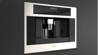 """24"""" Built-in Coffee Machine - Stainless Steel"""