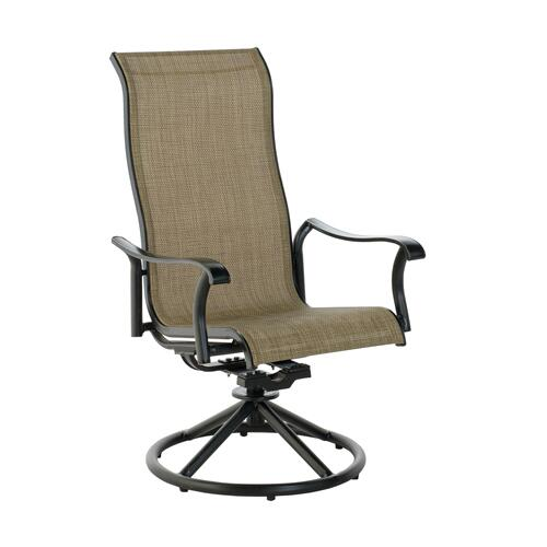 Haven High-Back Sling Dining Swivel Rocker