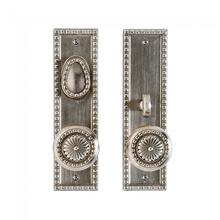 """View Product - Corbel Rectangular Entry Set - 2 1/2"""" x 9"""" Silicon Bronze Brushed"""