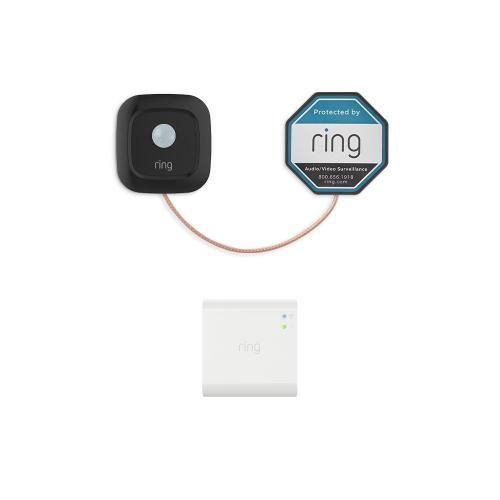 Ring Mailbox Sensor + Bridge - Black