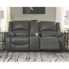 View Product - Calderwell Reclining Loveseat With Console
