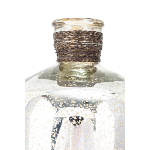 Imax Corporation - Veneta Mercury Glass Jugs - Set of 3