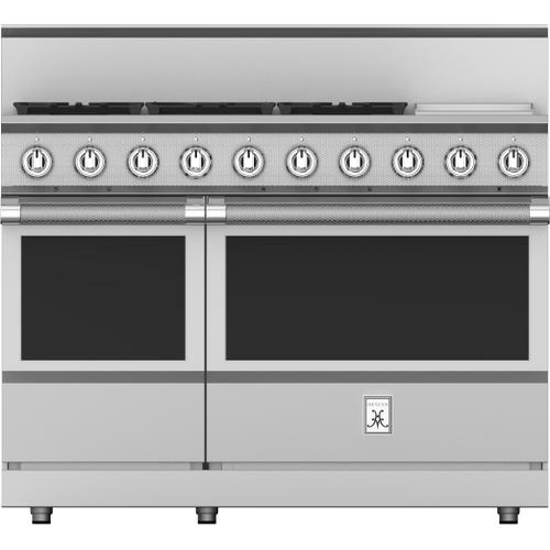 """Hestan - 48"""" 5-Burner All Gas Range with 12"""" Griddle - KRG Series - Sol"""