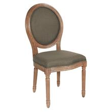 See Details - Lillia Oval Back Chair