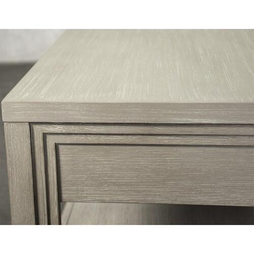 Cascade - Rectangular Coffee Table - Dovetail Finish