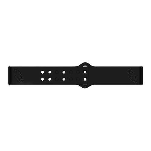 Philadelphia Eagles Debossed Silicone Watch Band (20mm) Black