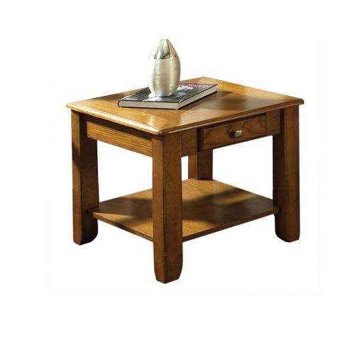Nelson End Table, Oak