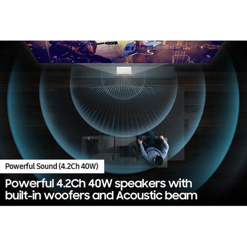 "130"" The Premiere LSP9T 4K Smart Triple Laser Projector"