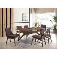 Razor Dining Set - Table, 2 Arm Chairs, and 4 Side Chairs