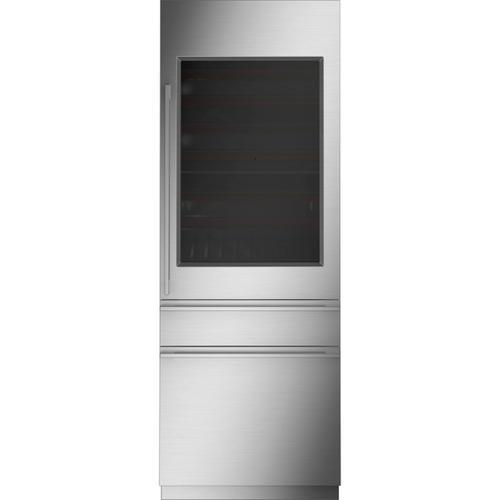 "Monogram 30"" Fully Integrated Wine Refrigerator - Coming Spring 2021"