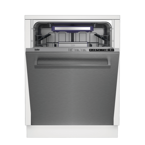 Tall Tub Stainless Dishwasher, 14 place settings, 45 dBA, Top Control