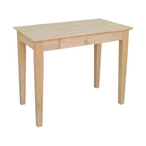 Unfinished Student Desk w/ Drawer