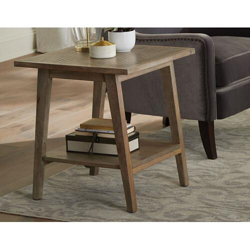 Milani Chairside End Table