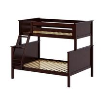 See Details - Twin/Full Bunk Espresso