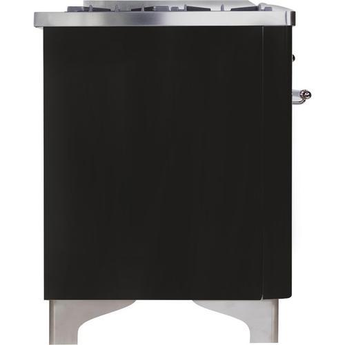 "36"" Inch Matte Graphite Liquid Propane Freestanding Range"