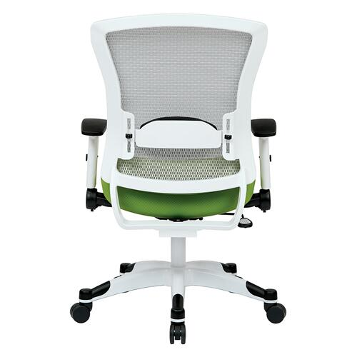 Office Star - White Frame Managers Chair (
