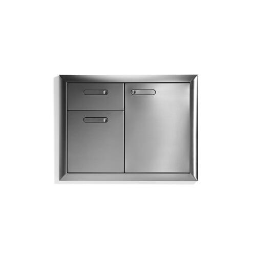 Trash Drawers Combo Unit (Ventana)