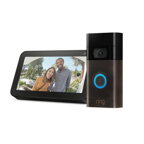 Video Doorbell with Echo Show 5 (for 2020 Release) - Venetian Bronze