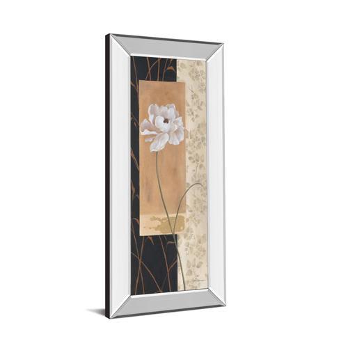 """""""Black & Gold I"""" By Carol Robinson Mirror Framed Print Wall Art"""