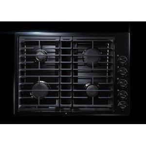 "JennAir - Black 30"" JX3™ Gas Downdraft Cooktop"