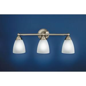 Brantford chrome bath light