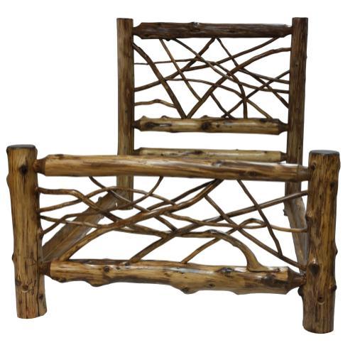 Twig Bed - Single - Vintage Cedar