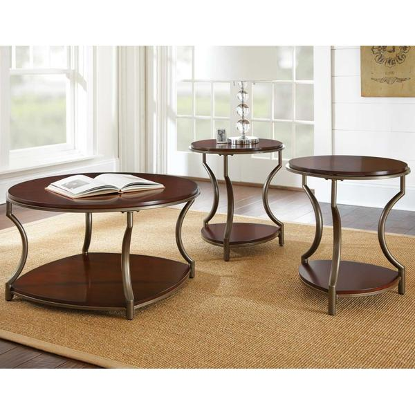 See Details - Miles 3-Piece Occasional Set (Cocktail Table & 2 End Tables)