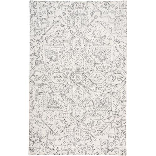 Feizy - BELFORT 8778F IN IVORY-CHARCOAL