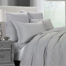 Matelasse Gray Coverlet Set (king/queen) - King