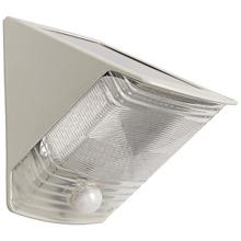 Solar-Powered Motion-Activated Wedge Light (Gray)