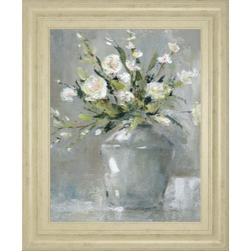"""Country Bouquet Il"" By Carol Robinson Framed Print Wall Art"