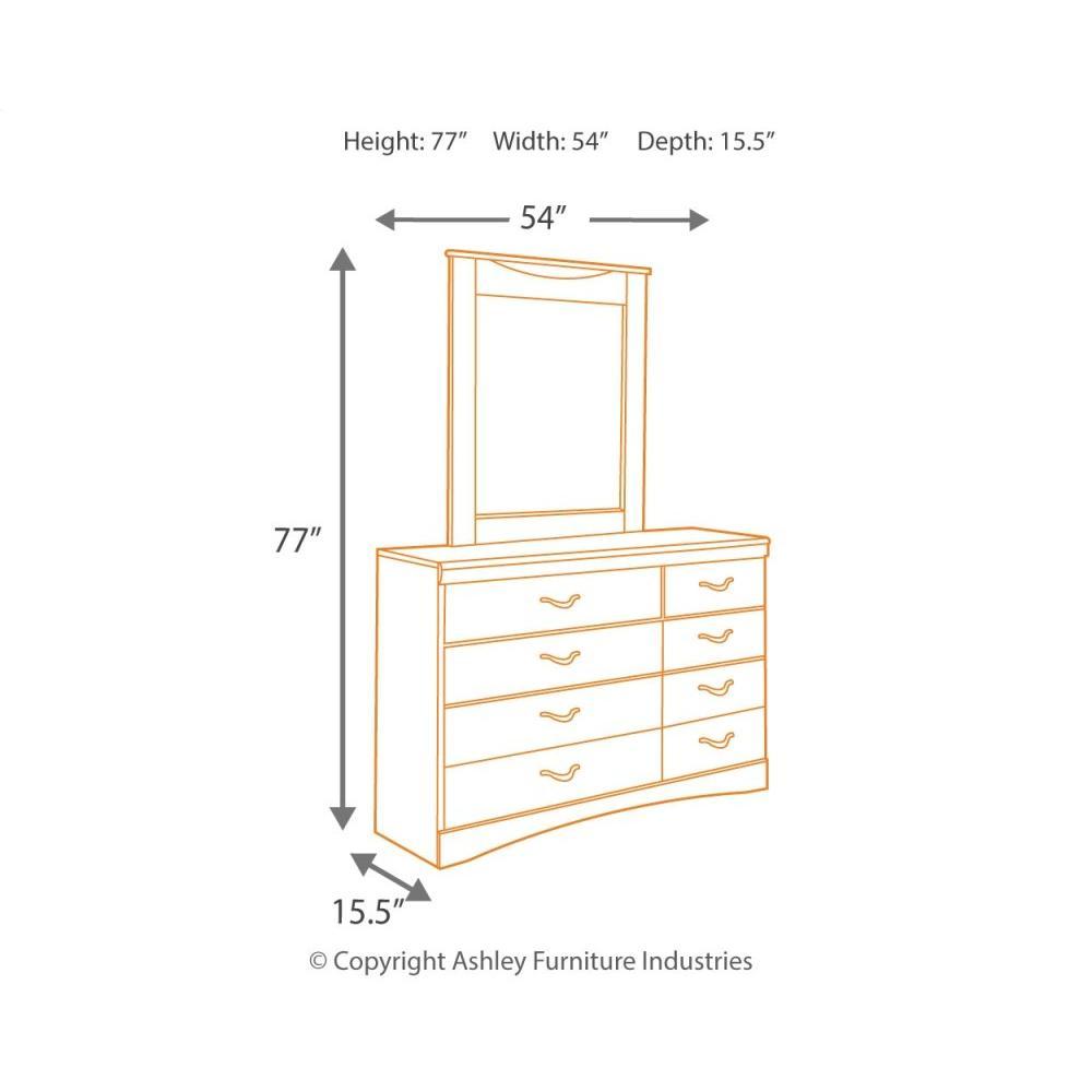 Product Image - Zanbury Dresser and Mirror