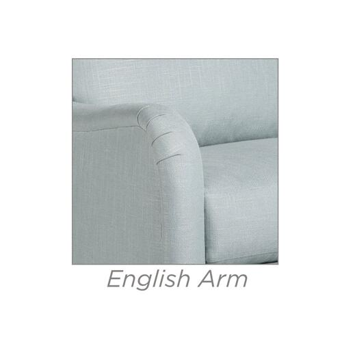 Casey Swivel Chair w/ English Arm