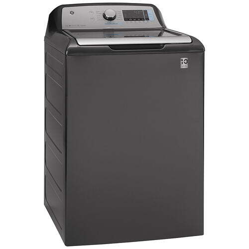 GE® 5.8 cu. ft. (IEC) Capacity Washer with SmartDispense Diamond Grey - GTW845CPNDG