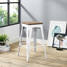 Promenade Counter Stool in White