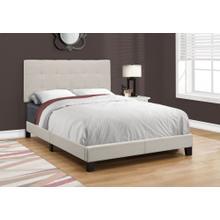 See Details - BED - FULL SIZE / BEIGE LINEN