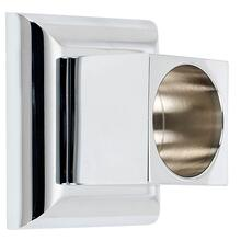 Product Image - Manhattan Shower Rod Brackets A7446 - Unlacquered Brass