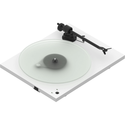 White- Pro-Ject T1 Phono SB Turntable