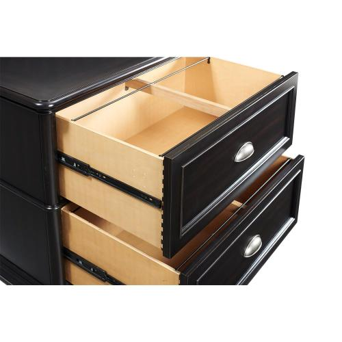 Lateral File Cabinet - Kohl Black Finish