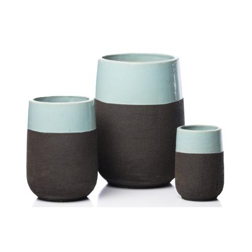 Chagos Tall Round Planter - Set of 3