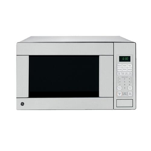 GE 1.1 Cu. Ft. Countertop Microwave Stainless Steel JES1140STC
