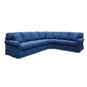 Capris configurable sectional. Build your sectional from the pieces below, Skirted.
