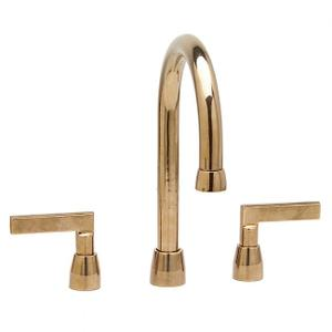 "Lav. Deck Mount Faucet (12 7/8"") Silicon Bronze Brushed Product Image"